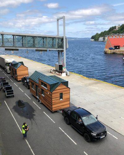 Auf dem Weg in den hohen Norden - das Modell Norwegen von Tiny House Diekmann